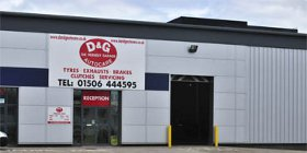D&G Autocare Livingston Tyre Garage